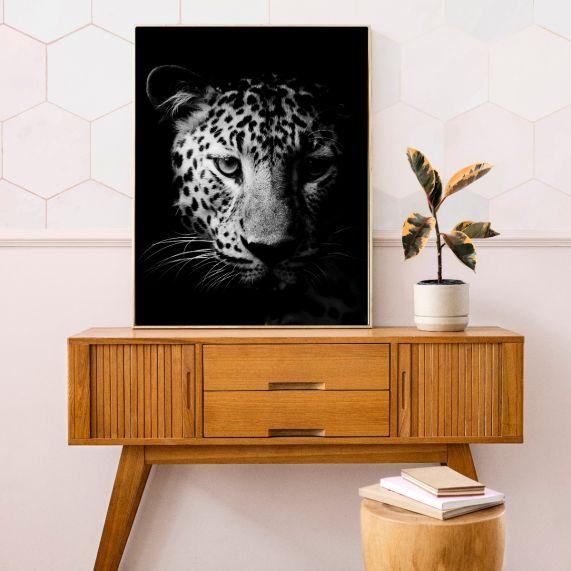 interieur poster leopard b2