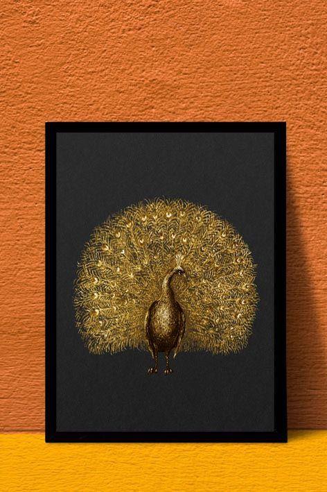 Golden Pauw interieur kaart    A4