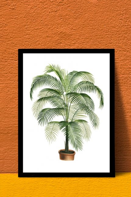 Palm boom a4 kaart