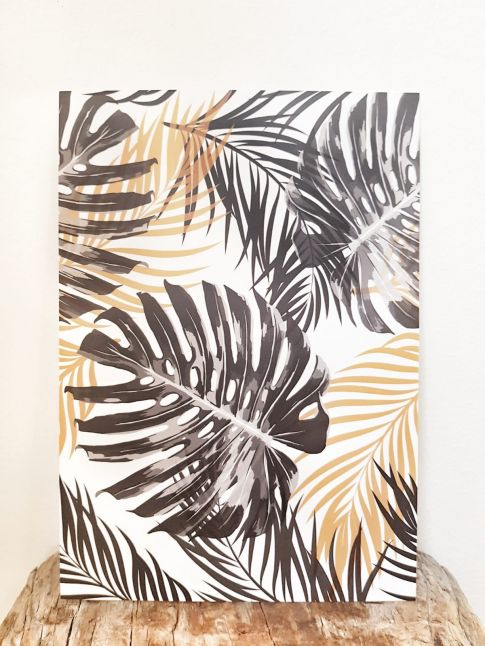 GOLD MONSTERA | A5