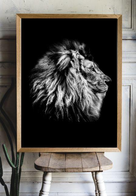 Lion Interieur posters A3